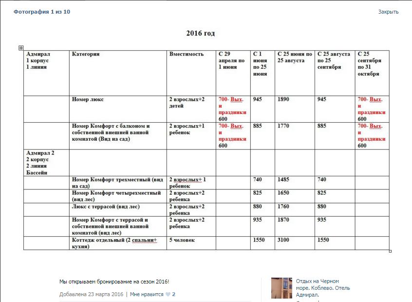 Цены за номера в отеле сына Волохова