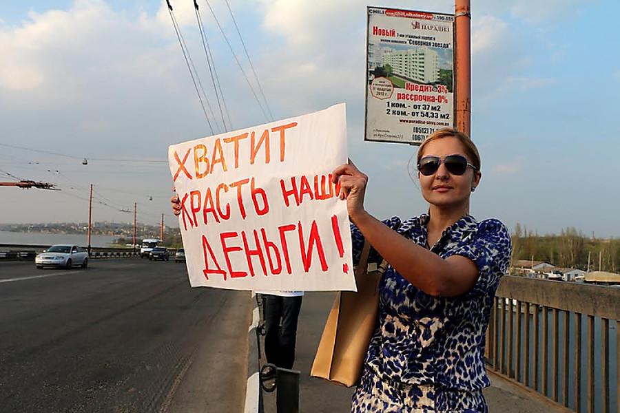 До прихода во власть Оксана Янишевская боролась с воровством чиновников