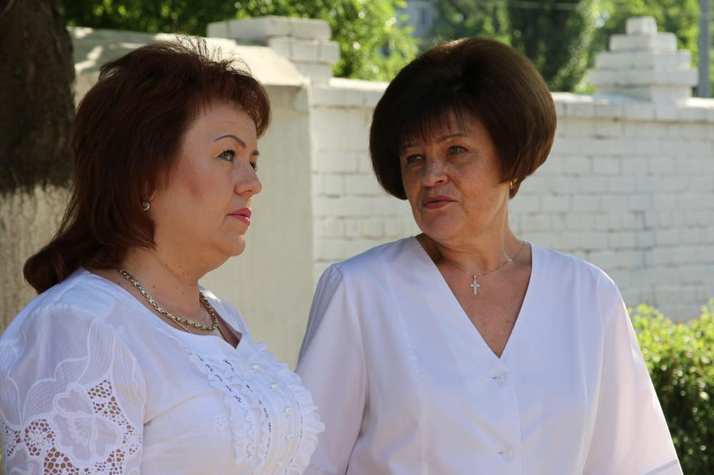 Лариса Дергунова и Татьяна Щедрова