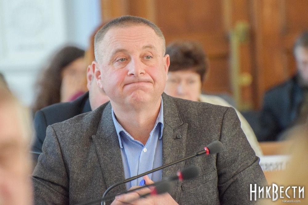 Депутат Николаевского горсовета Игорь Концевой