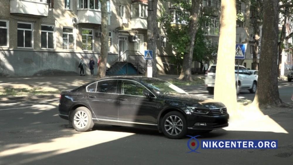 """""""Фольксваген Пассат"""", которым пользуется прокурор Левицкий."""