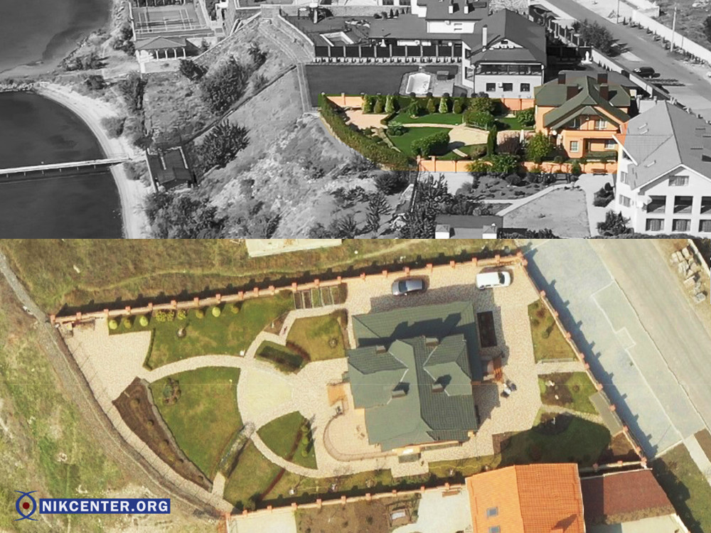 Дом Нефедовых расположен на самом берегу реки