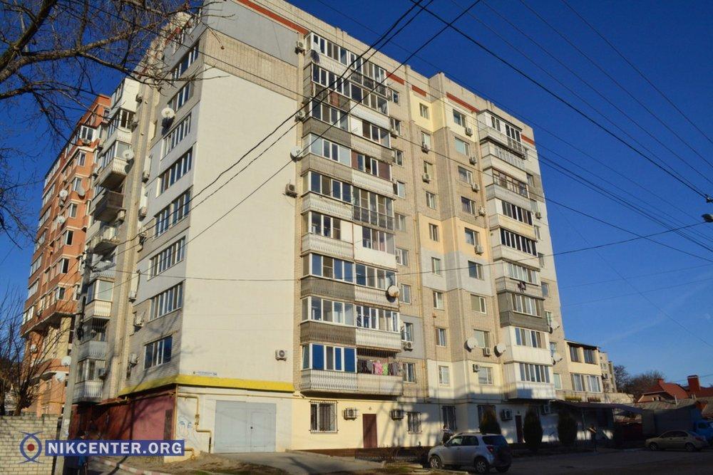 Дом №54 по ул. Краснофлотской