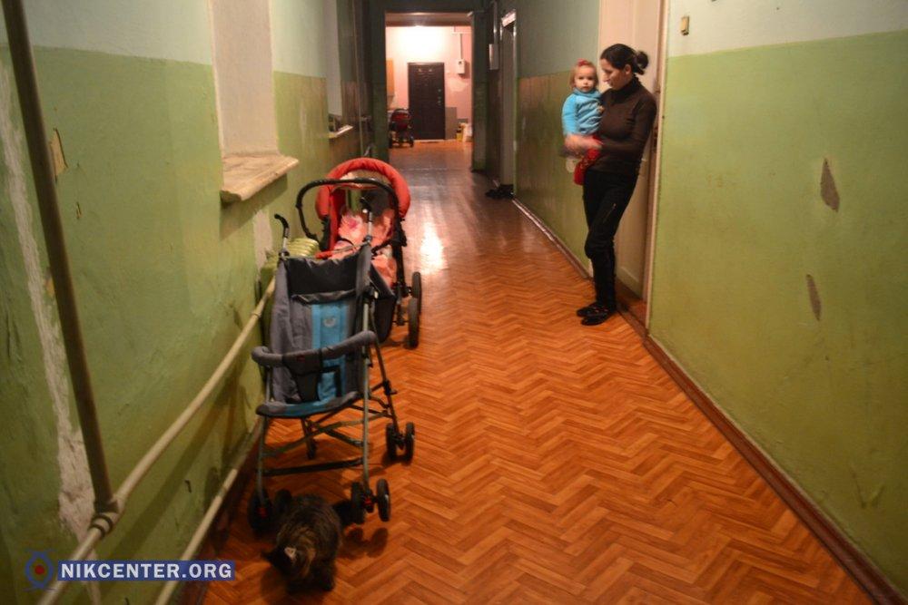 Общежитие, где живет Лариса Вальтер с детьми