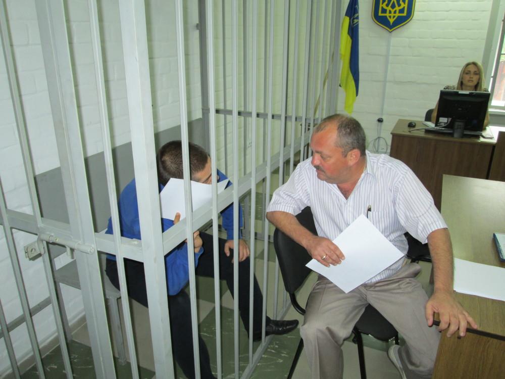 Подозреваемый Александр Причепойда в суд