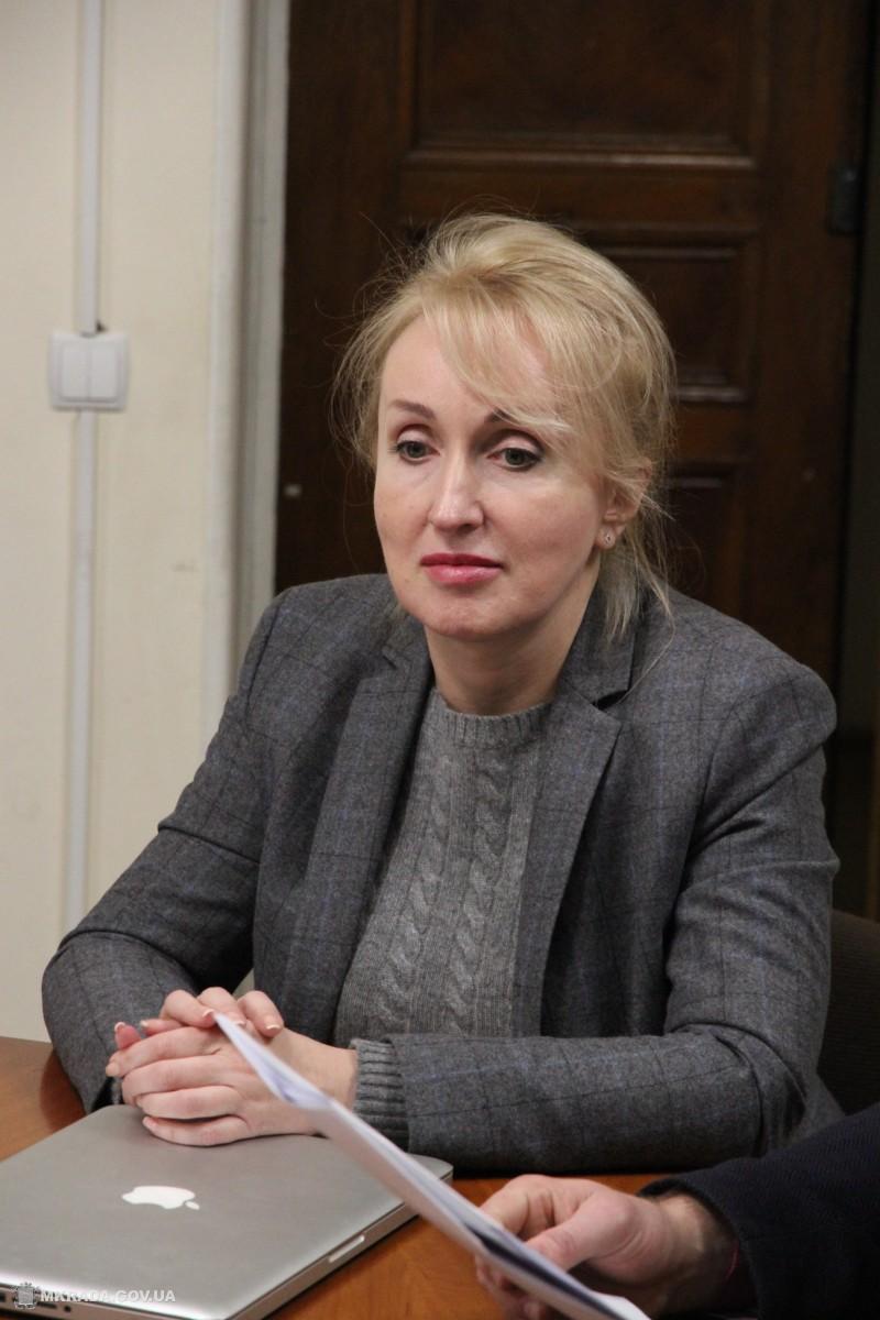 Татьяна Казакова, в.и.о. городского головы, секретарь Николаевского городского совета