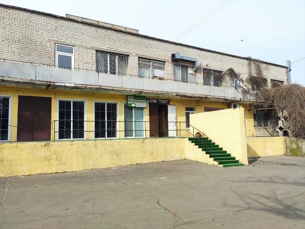 Морг областной больницы, в котором разместился ФЛП Дмитрий Макс