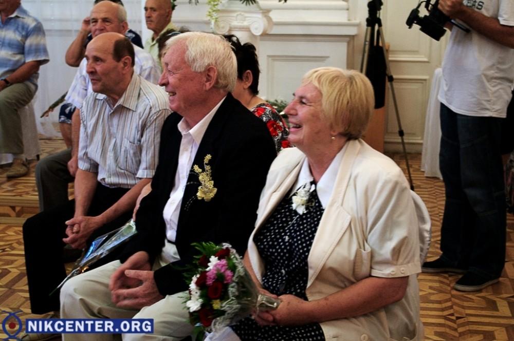 В Херсоне чествовали «золотые пары» (фото), фото-12