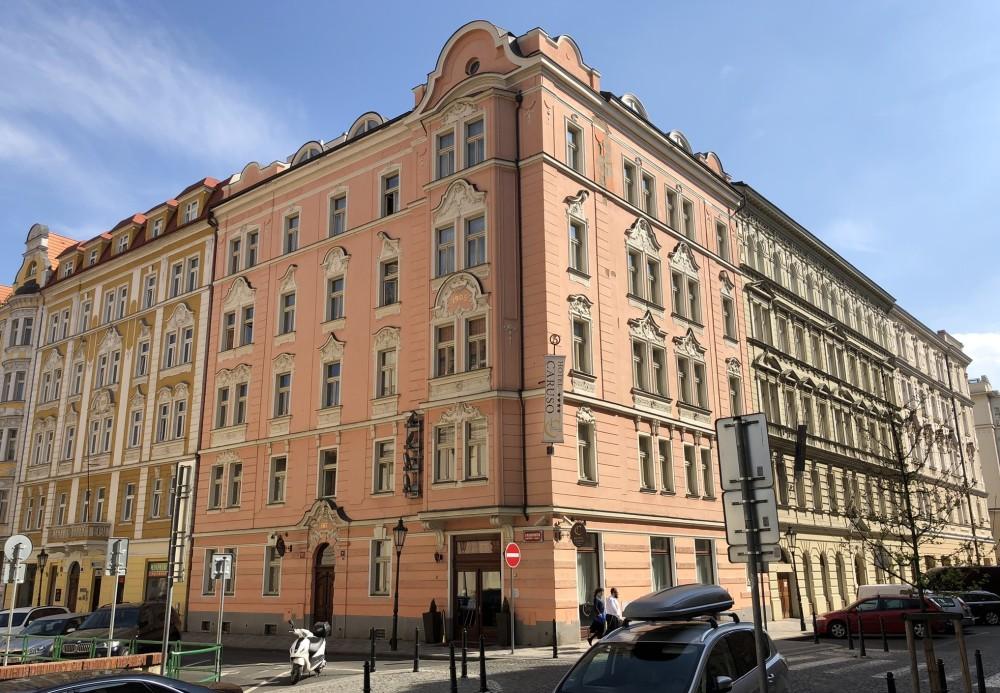 Гостиница Caruso в историческом центре Праги. Фото - Ева Кубаниова.