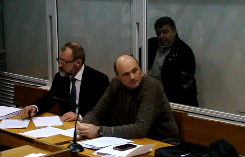 Предприниматель Вадим Фолтин на судебном заседании