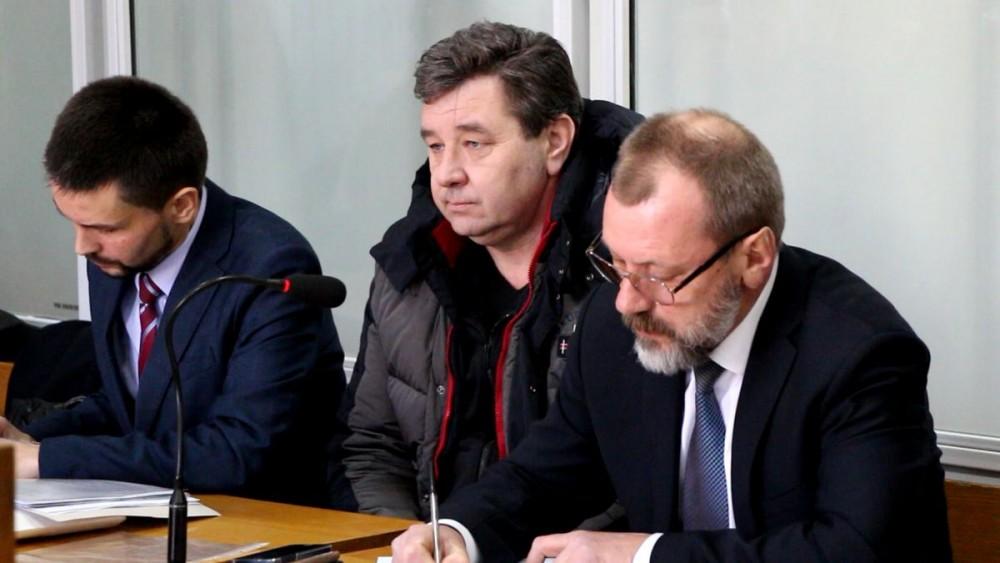 Задержанный депутат Игорь Копейка с адвокатами