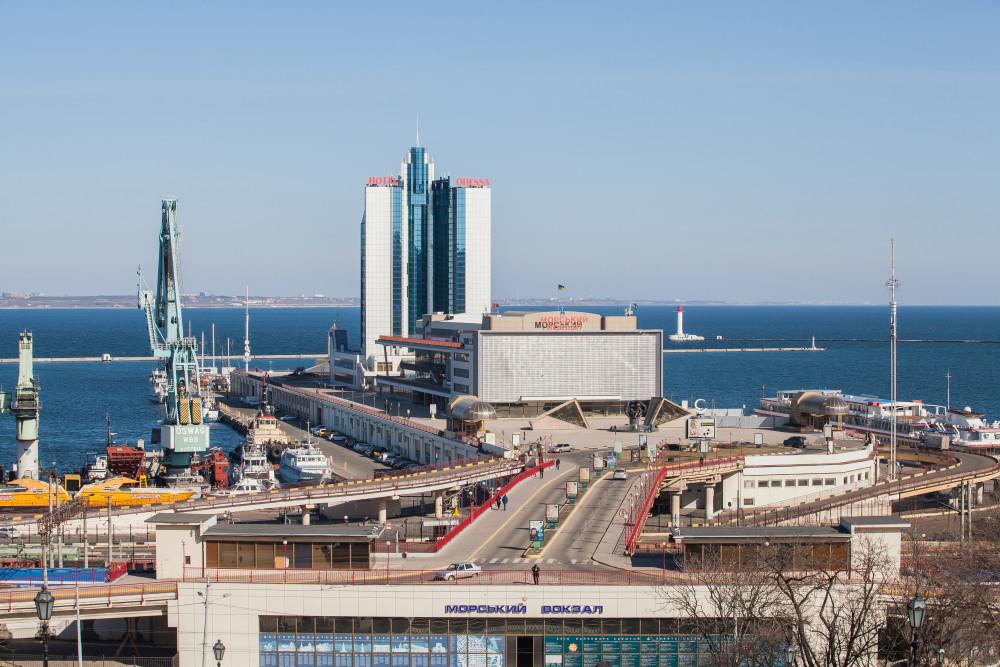 Одесский морской вокзал. Фото - Юрий Кошковский.