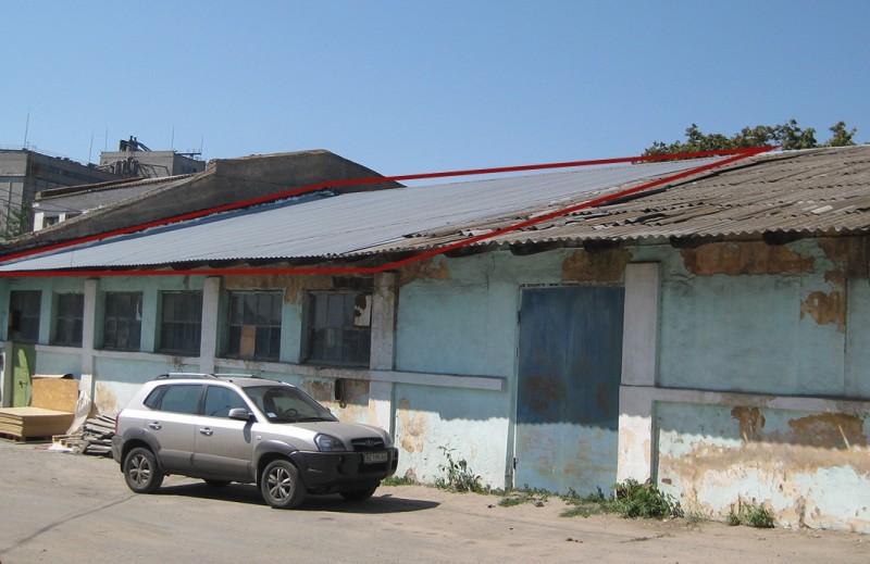 Ремонт крыши стоимостью примерно 100 тыс. грн.