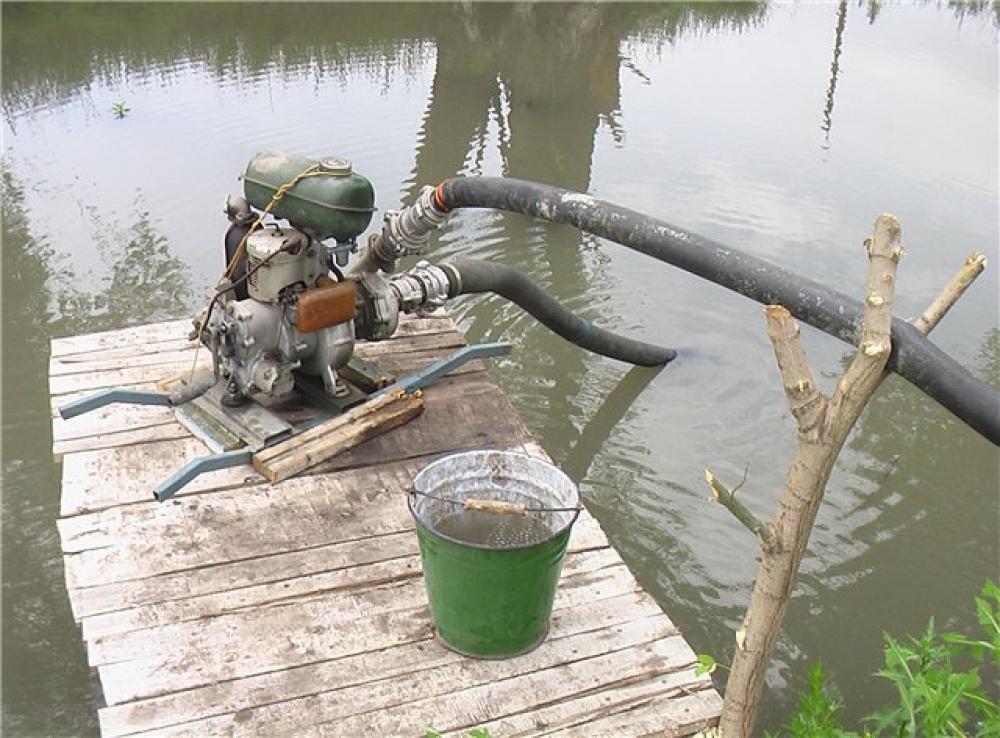 Мотопомпа воды своими руками