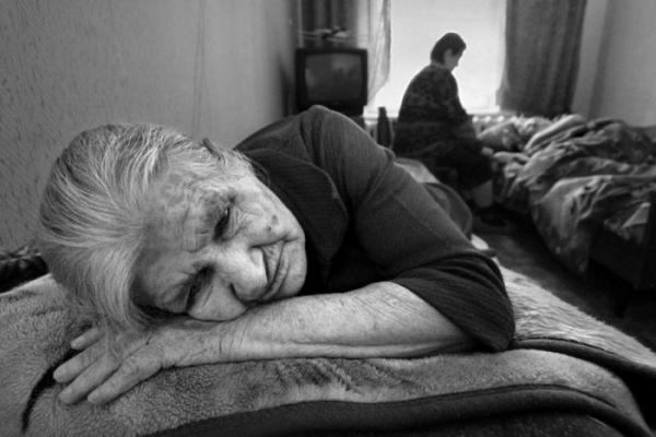 спящяя пожелая мама фото