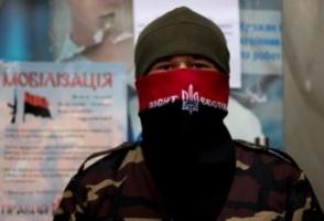 В Херсоне напали на офис «Правого сектора»