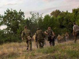 Военнослужащие 72 бригады разделились на две части и отступили на территорию РФ
