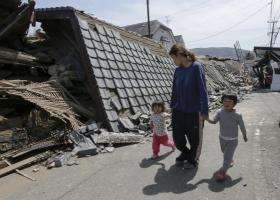 В Японии произошли два мощнейших землетрясения: 19 погибших, сотни раненых
