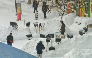 Снегопады в Украине оставили без света уже 280 населенных пунктов