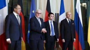 Главы МИД Украины, Франции, Германии и России проведут встречу в