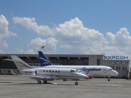 Областной совет на развитие аэропорта «Херсон» планирует увеличить финансирование