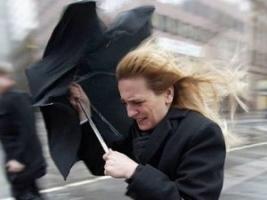 В  Украине будет штормить