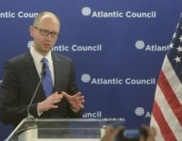 Яценюк в ходе встречи в Нью-Йорке с представителями инвестиционных кругов США представил План восстановления Украины
