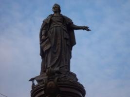 Памятник Екатерине || в Одессе решили снести