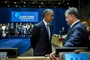 На встрече президентов США и Украины состоялся
