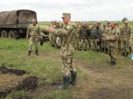 На полигоне под Николаевом прошли масштабные учения (ФОТО)