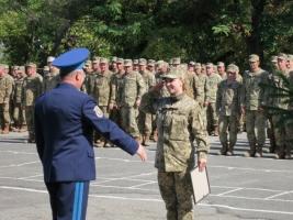 В Николаеве 204-я Севастопольская бригада тактической авиации отметила свое 75-летие