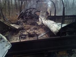 На Донбассе подорвался грузовик с бойцами АТО