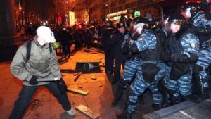 За разгон Евромайдана сообщено о подозрении 27 лицам