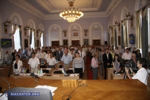 На сессии горсовета награждали работников ЖКХ и раздавали подарки