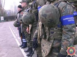 На подконтрольной Украине части Донецкой области введено усиленное патрулирование улиц