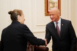 Представители мониторинговой миссии ОБСЕ навестили Труханова