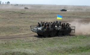 На военном полигоне Широкий Лан в Николаевской области продолжаются учения военного командования
