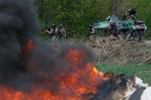 В Донецке в результате обстрелов ранены 6 мирных жителей. Погиб сотрудник «Красного Креста»