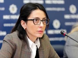 Деканоидзе объявила новый набор в николаевскую полицию