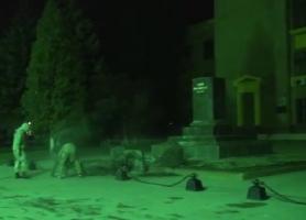 В Харькове за ночь снесли три памятника