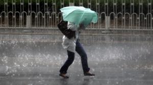 В Николаеве объявлено штормовое предупреждение