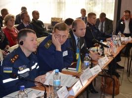 В Николаеве стартовали совместные учения спасателей ГСЧС и Минобороны США