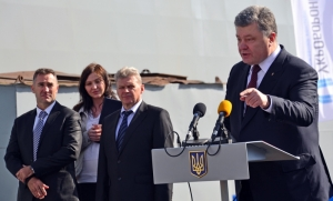 В Херсоне Порошенко вспомнил, что он – не только кондитер