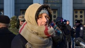 Под ВР прошла журналистская акция протеста против создания