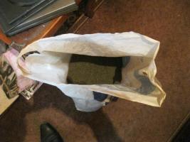 У жителя Одесской области в доме нашли пакет с каннабисом