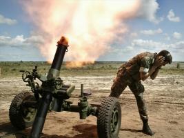 Боевики снова обстреливают силы АТО из тяжелого вооружения запрещенных калибров - штаб АТО