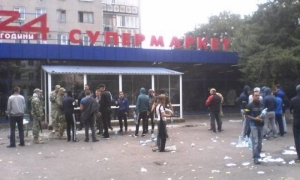 Погром супермаркета в Черноморске Одесской области: стрелявшего задержали и отпустили через три часа