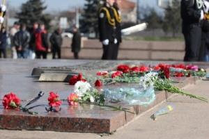 В центре Николаева прошла репетиция парада, посвященного Дню Победы