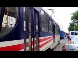 В одесском трамвае умер пенсионер