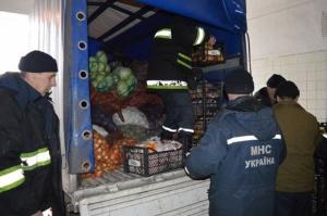 В зону АТО удалось доставить первую часть украинского гуманитарного груза